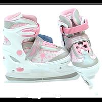 Ледовые коньки/хоккейные коньки раздвижные Profi: 30-33 и 34-37 размер