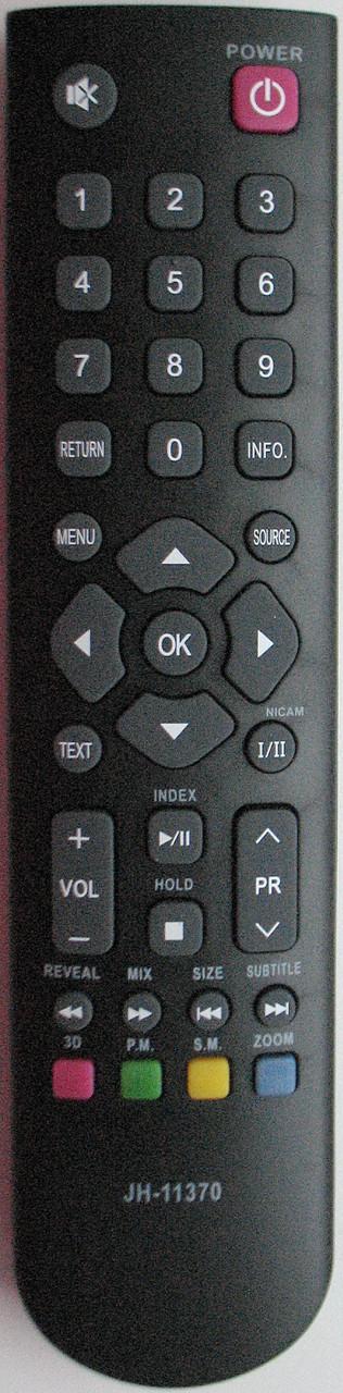 Пульт от телевизора SUPRA.  Модель JH-11370 (3D)