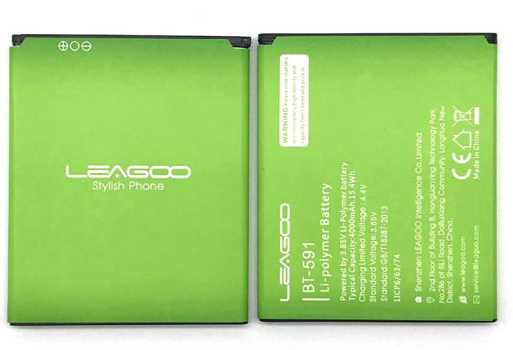 Аккумулятор батарея для Leagoo Kiicaa Power 4000 mAh / Оригинал / BT - 591   3.85V