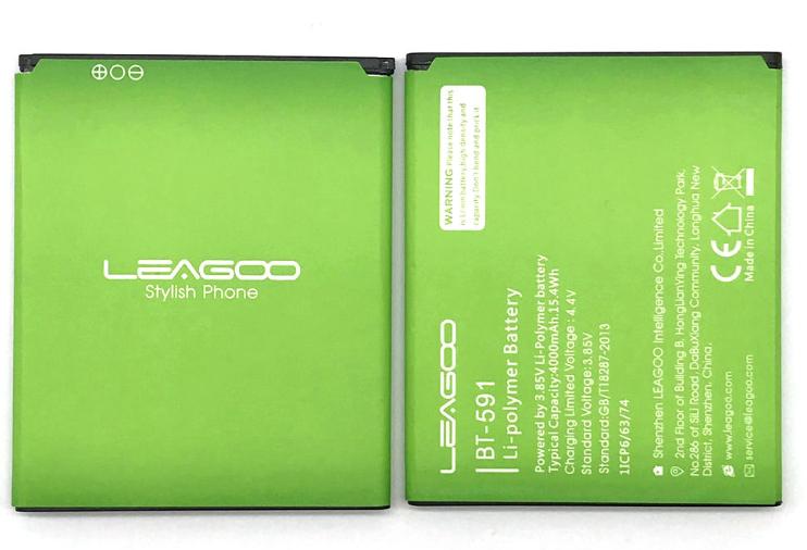 Акумулятор батарея для Leagoo Kiicaa Power 4000 mAh / Оригінал / BT - 591 3.85 V