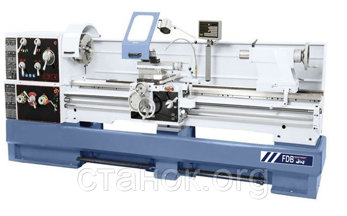 FDB Maschinen Turner 660 3000 S DPI токарно-винторезный станок по металлу фдб машинен тюрнер 660 3000 с дпи, фото 2