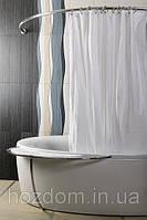 Карниз в ванную дуговой 150 х 150 см