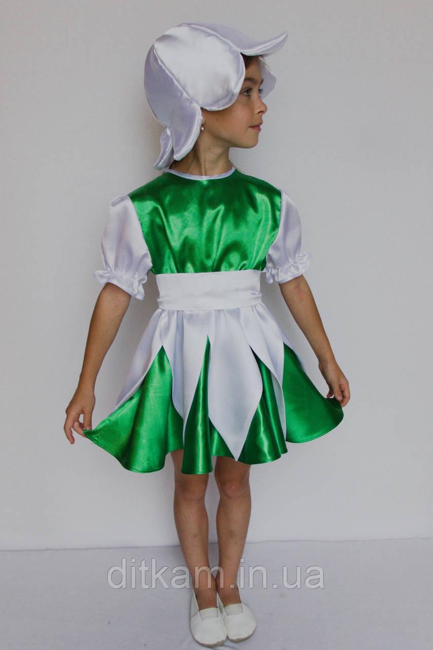 Карнавальный костюм Подснежник (девочка)