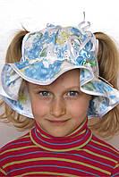 Панама детская (голубой/белый), фото 1