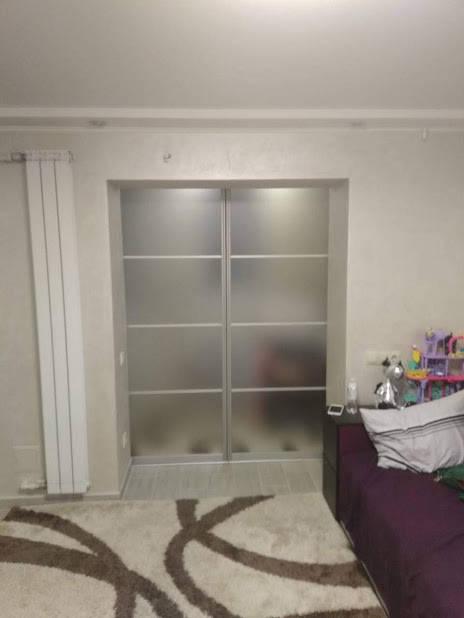 Зонирование квартиры. Раздвижные перегородки -1