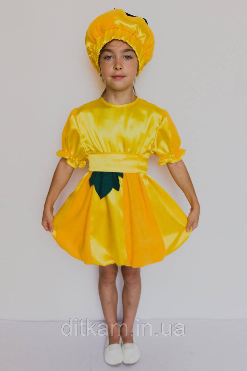 Карнавальный костюм Тыква №2 (девочка)