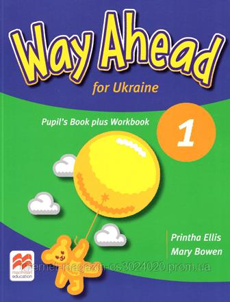 Way Ahead for Ukraine 1 Pupil's Book plus Workbook ISBN: 9781380013279, фото 2