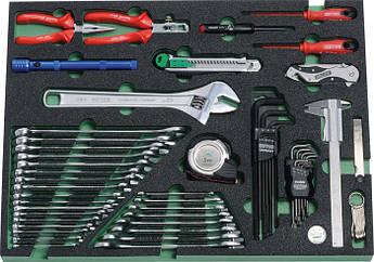 Модуль інструментальний з 55 предметів 565 x 415 x 5 мм HEYCO Німеччина