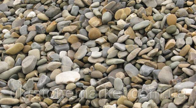 Подільський камінь галька сіра 5-20