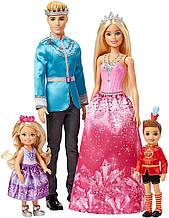 Набор Барби Дримтопия Королевская семья