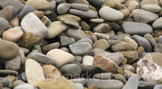Подільський камінь галька сіра 20-40