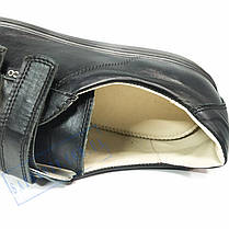 Мужские черные кожаные кроссовки весна - осень Ecco2, фото 3