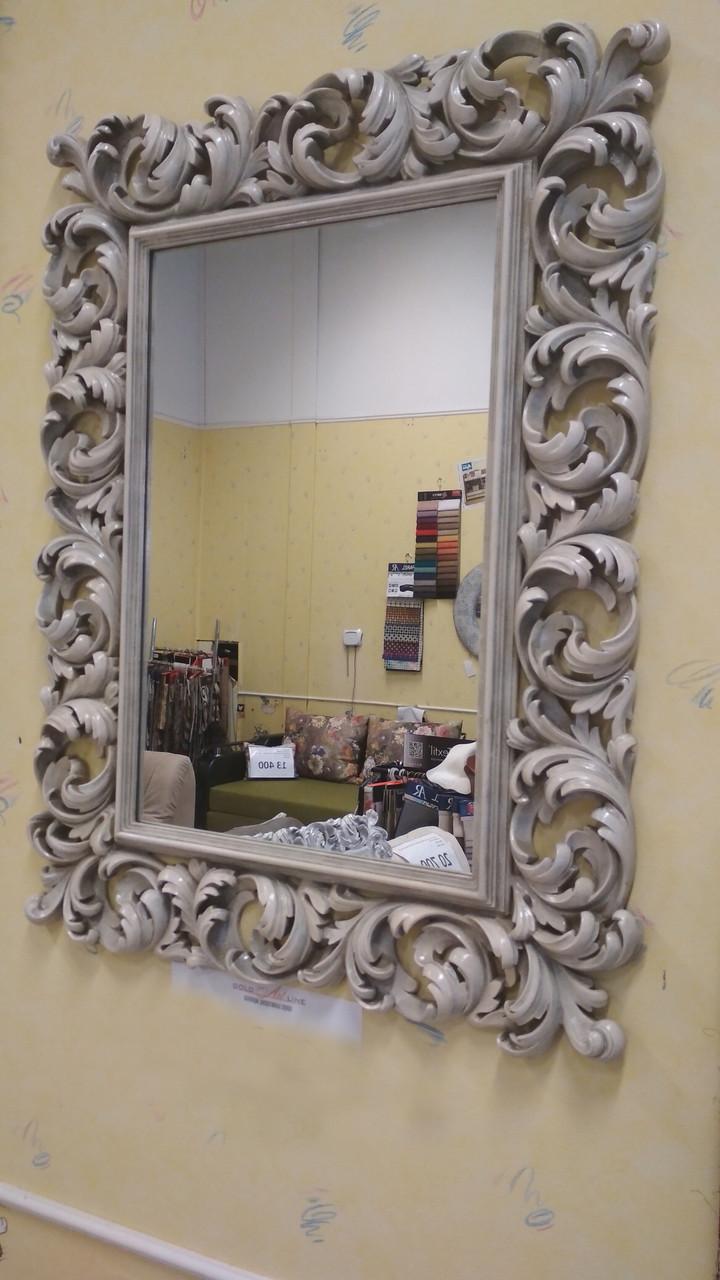 Зеркало в белой раме Ti Amo «ivory» (слоновая кость)
