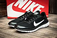 Кроссовки женские Nike Free Run 3.0, черные (2509-1),  [  36 37  ]