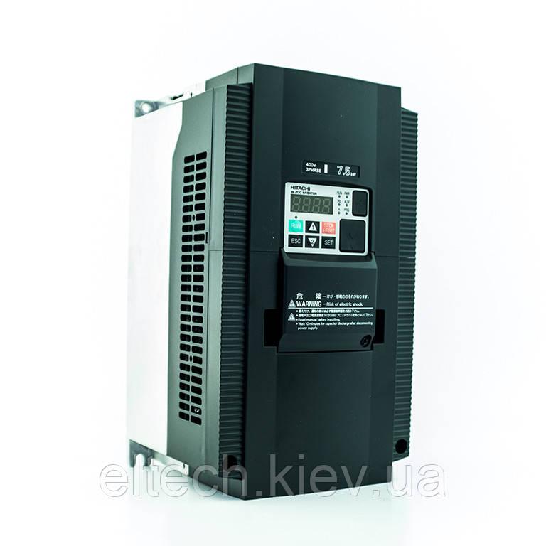 Частотный преобразователь Hitachi WL200-075HFE, 7.5кВт, 400В
