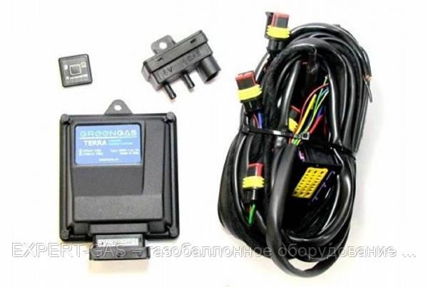 Электроника GreenGas Terra AJ-400/24 (Autronic) 4 цил.разьем тип Valtek,без ДТР и датчика уровня