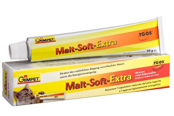 Паста Gimpet Malt-Soft-Extra (Мальт-Софт) для выведения шерсти 100 г