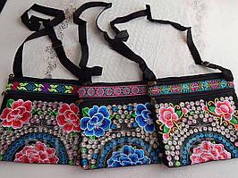 Красиві жіночі сумки в карпатському стилі різні малюнки