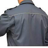 Костюм охранника  'Плаза' (куртка+брюки) цвет т.синий, фото 2
