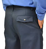 Костюм охранника  'Плаза' (куртка+брюки) цвет т.синий, фото 3