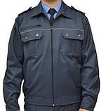 Костюм охранника  'Плаза' (куртка+брюки) цвет т.синий, фото 4