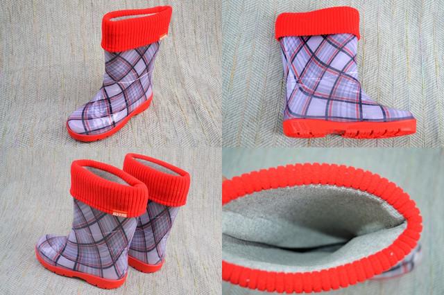 Гумові чоботи Шотландка, Alisa line фото