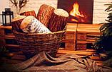 Подушка валик Колода береза, фото 2