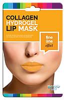 Колагенова гідрогелева маска для губ проти зморшок Beautyface