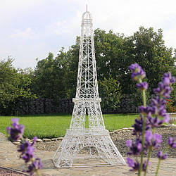 Эйфелева башня для сада с LED подсветкой