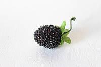 Декоративная ягода ежевики черного цвета, фото 1