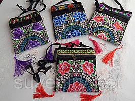Жіноча оригінальна красива сумка в карпатському стилі