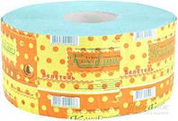 Бумага туалетная Джамбо Кохавинка  на гильзе (зелёная) 120 м /8 шт