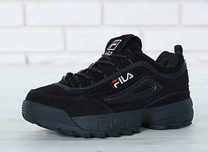 Мужские кроссовки FILA Disruptor II FUR / реплика (1:1 к оригиналу)/зима, фото 3