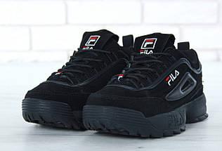 Мужские кроссовки FILA Disruptor II FUR / реплика (1:1 к оригиналу)/зима, фото 2
