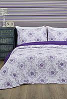 Постельное белье Lotus Premium - Anna лиловый евро