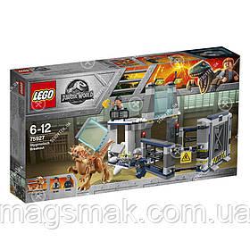 Побег стигимолоха из лаборатории LEGO (75927)