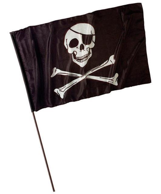 "Флаг пиратский ""Веселый Роджер"" 60х40см"