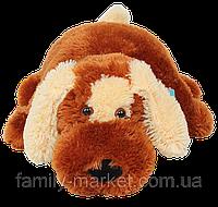 "Подушка-игрушка ""Собачка"" коричневая 55 см"
