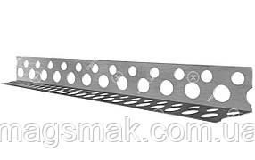 Polska Уголок алюминиевый перфорированный 36мм х 3м (штрипс 38.4 мм)