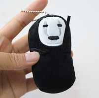 Мягкая игрушка-брелок  Spirited Away Faceless Унесенные призраками Безликий 10см  SA 27.103