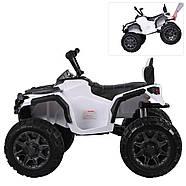 Детский квадроцикл M 3156EBLR-1, белый Гарантия качества Быстрая доставка, фото 2