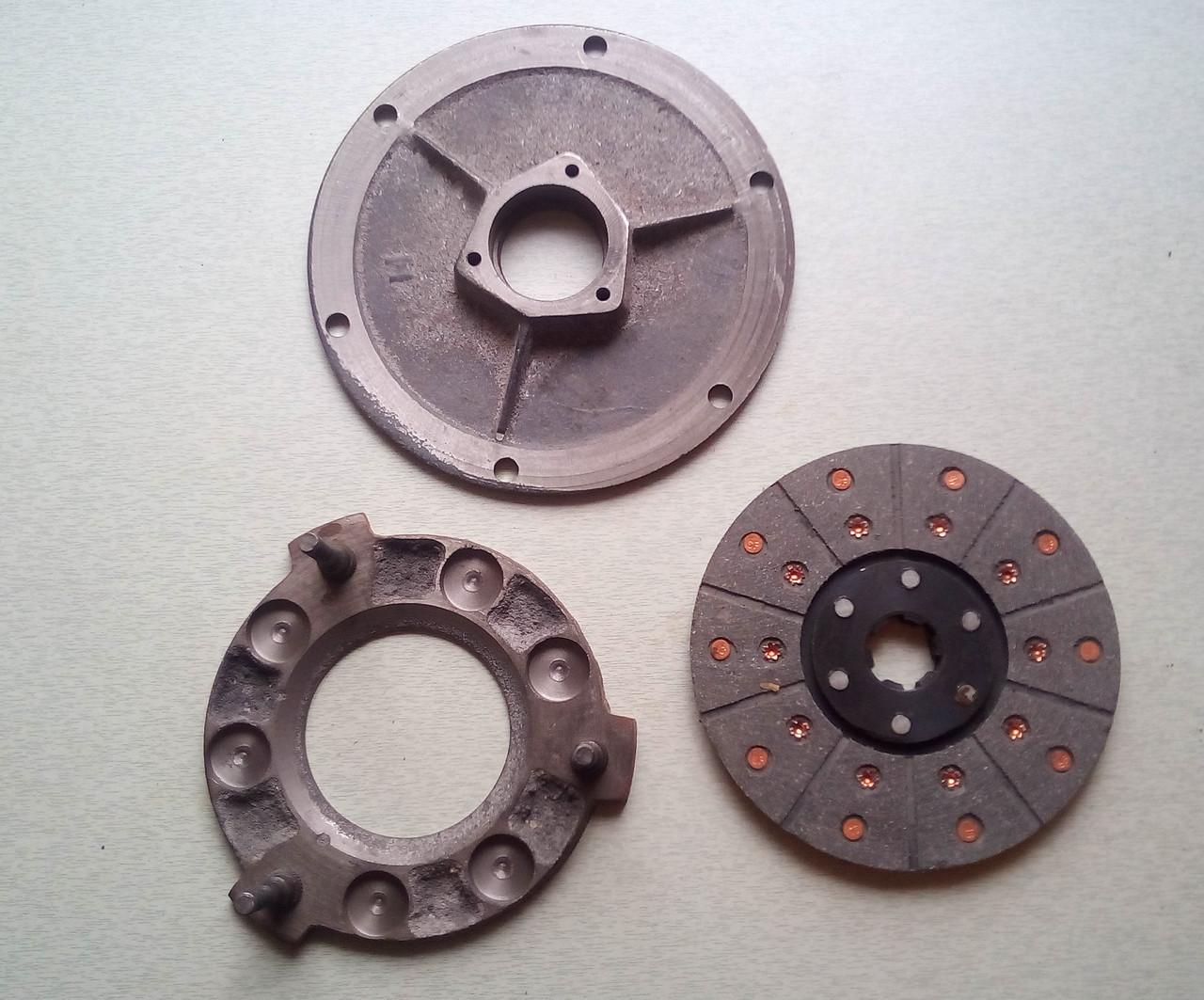 Диски сцепления комплект КПП мототрактора 12-15 лс