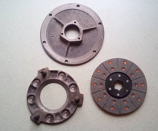 Диски сцепления комплект КПП мототрактора 12-15 лс, фото 2