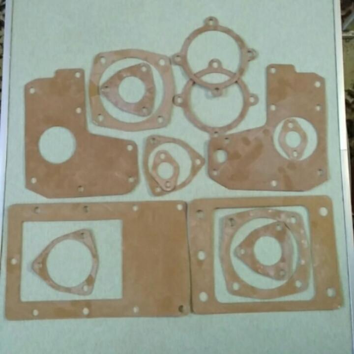 Комплект прокладок редуктора КПП мототрактора 12-15 лс
