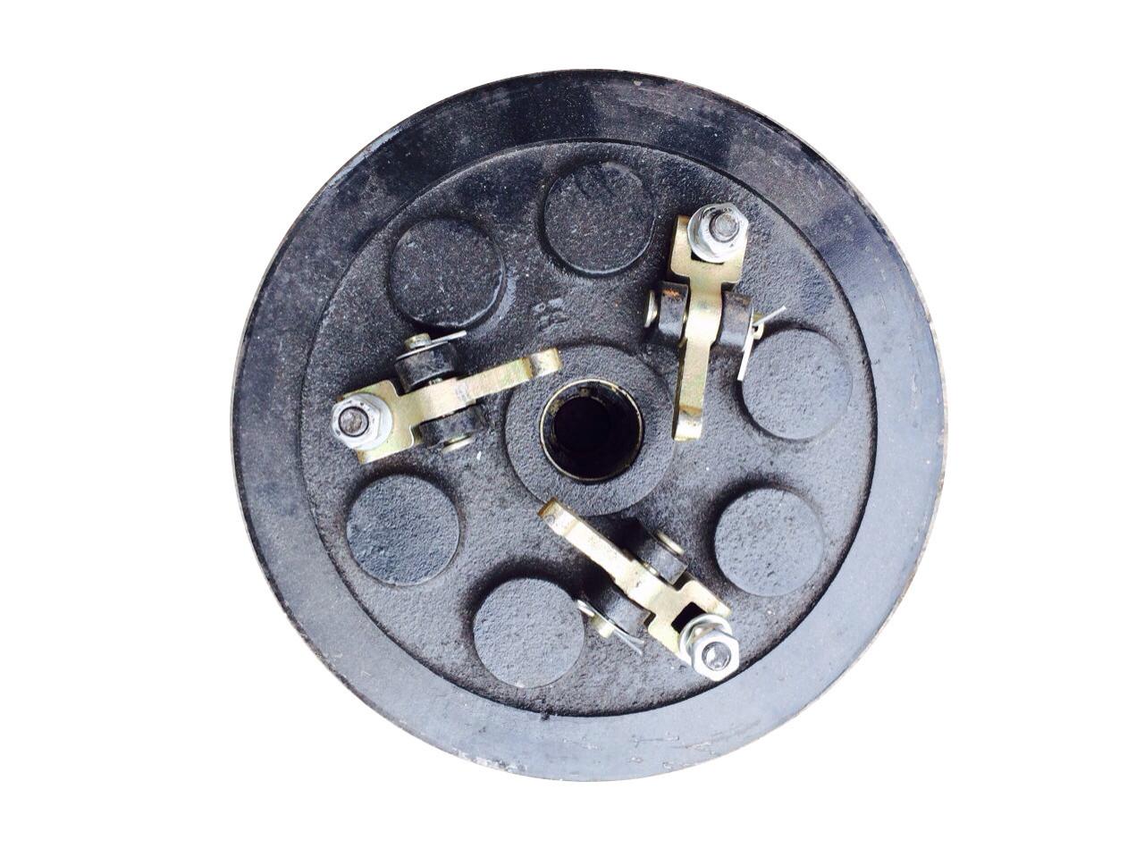 Муфта сцепления в сборе трехручейная КПП мототрактора 12-15 лс