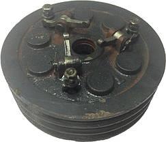 Муфта сцепления в сборе трехручейная КПП мототрактора 12-15 лс, фото 3