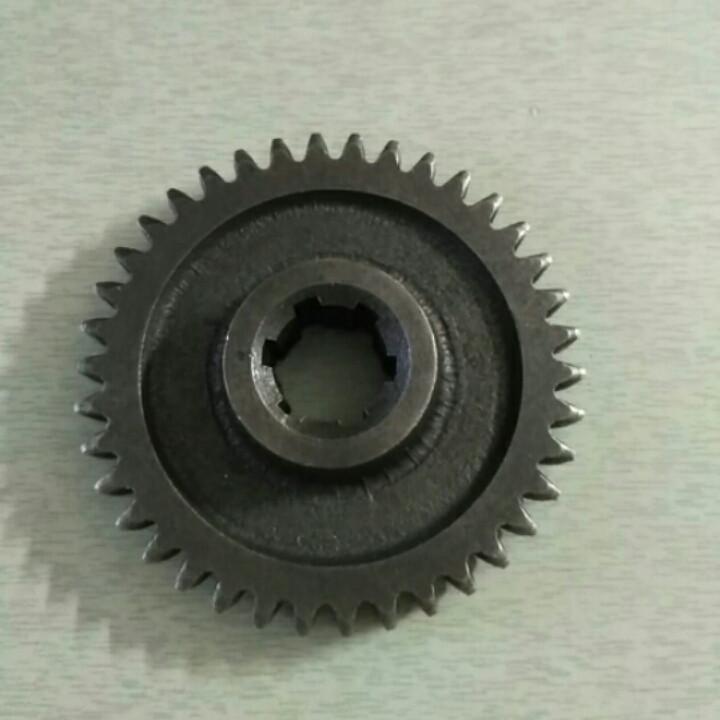 Шестерня ведомая 2 передачи z-38 КПП мототрактора 12-15 лс