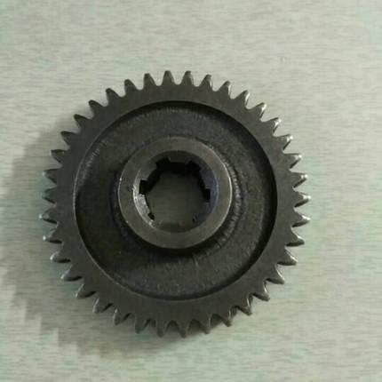 Шестерня ведомая 2 передачи z-38 КПП мототрактора 12-15 лс, фото 2