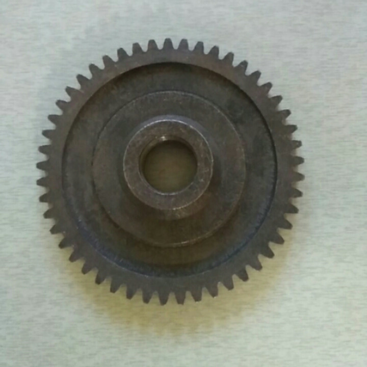 Шестерня ведомая понижающая z-49 КПП мототрактора 12-15 лс