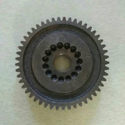 Шестерня ведомая понижающая z-49 КПП мототрактора 12-15 лс, фото 2
